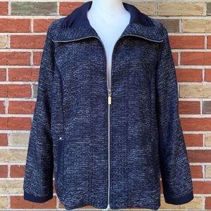 🍂 Christopher & Banks Long Sleeve Zip-up Jacket